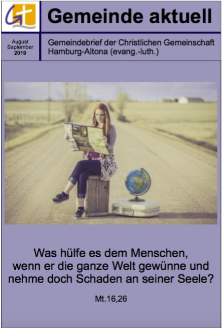 Gemeindebrief August/September