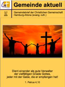 Gemeindebrief April/Mai