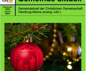 Gemeindebrief Dezember/ Januar